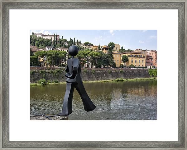 Common Man Framed Print