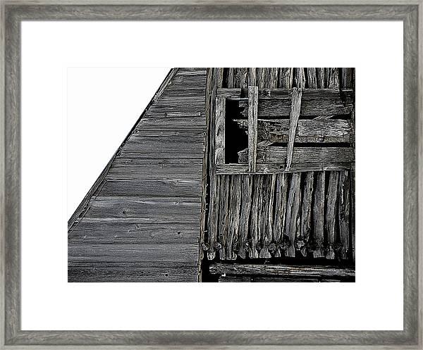 Commons Ford Barn Framed Print