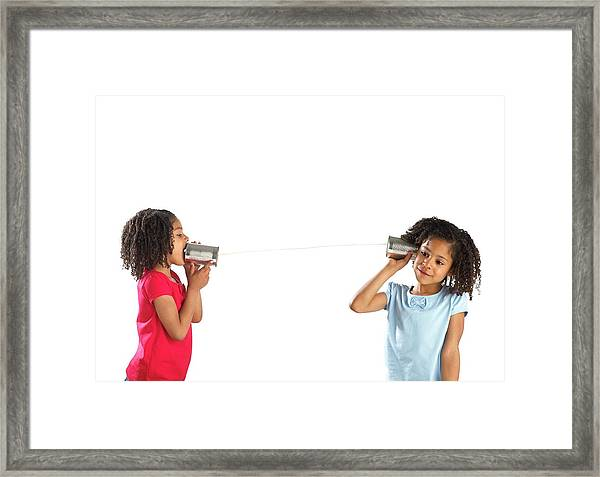 Communication Framed Print by Science Photo Library