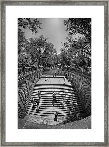 Commute Framed Print