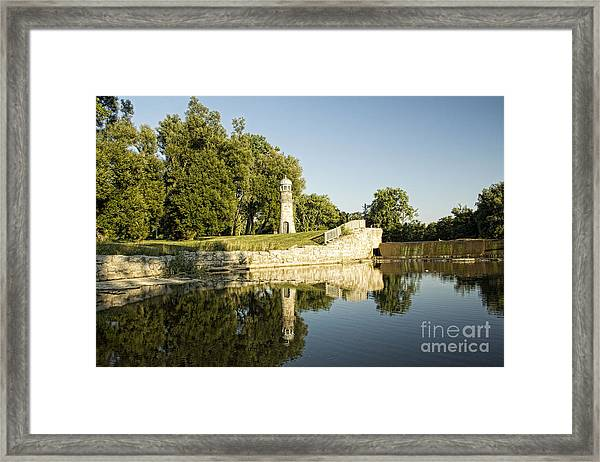 Como Lake Park Framed Print