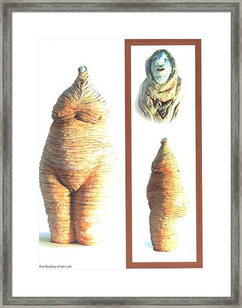 Completion Framed Print by Satya Winkelman
