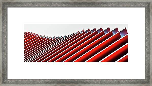 Concertina Wall II Framed Print