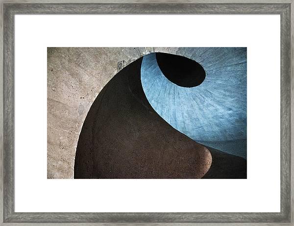 Concrete Wave Framed Print
