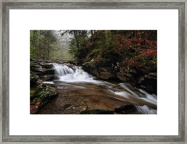 Conestoga Falls Framed Print