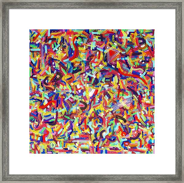 Confetti Framed Print by Patrick OLeary