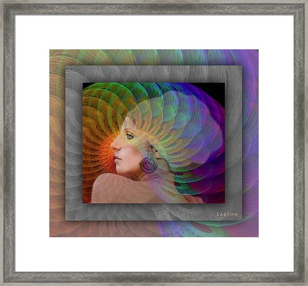 Consciousness Framed Print