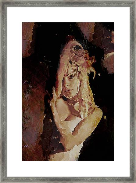 Constant Portrait Framed Print