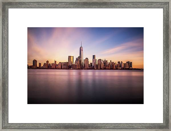 Containment Framed Print