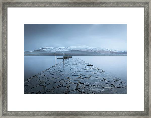 Contemplate Framed Print by David Ahern