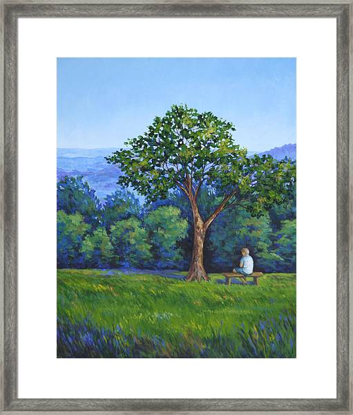 Contemplation Framed Print by Penny Birch-Williams