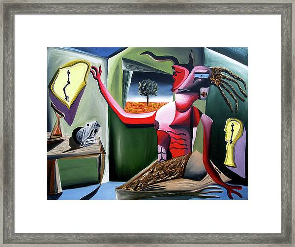 Contemplifluxuation Framed Print