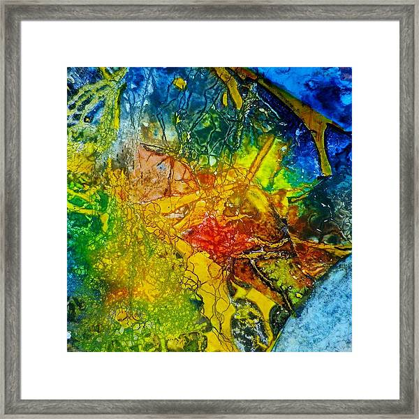 Contempo Eight Framed Print by David Raderstorf
