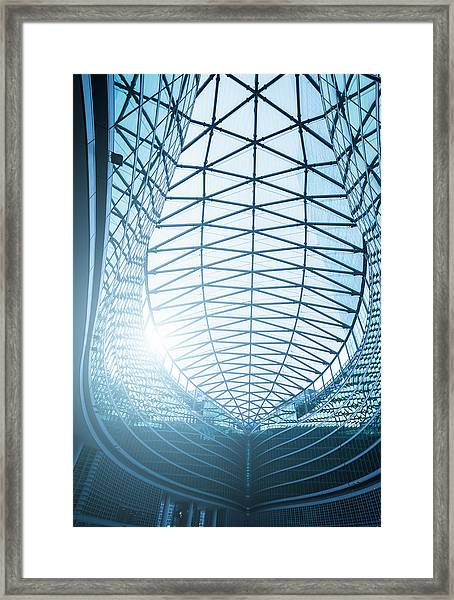 Contemporary Architecture In Milan Framed Print by Cirano83