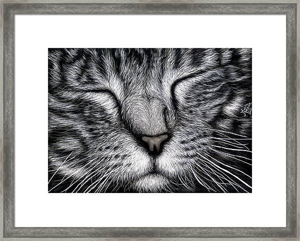 Content Framed Print