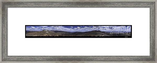 Continential Divide 360 Framed Print
