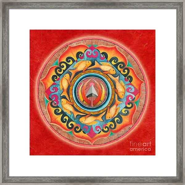 Continuing Mandala Framed Print