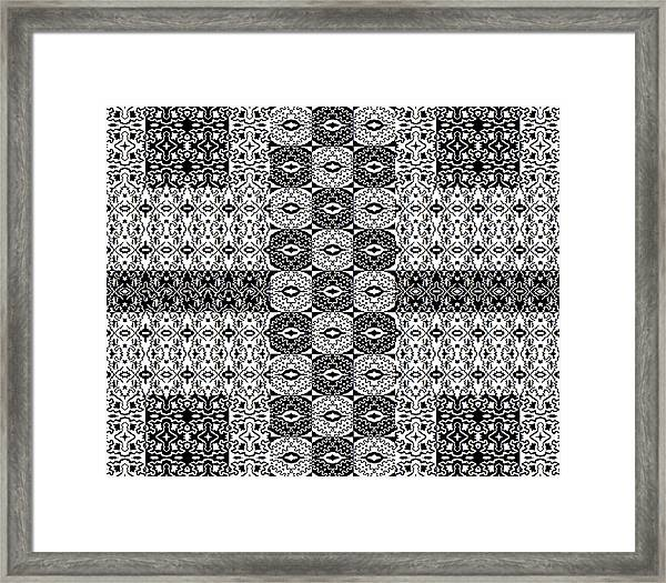 Control The Opposition Framed Print