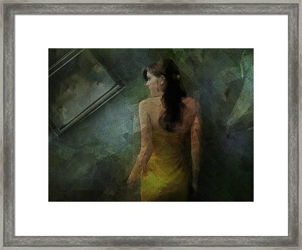 Conversance Conceptual Portrait Framed Print