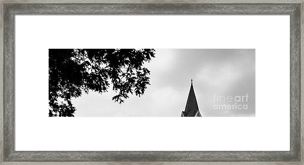 Conversation With God Framed Print