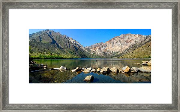 Convict Lake Panorama Framed Print