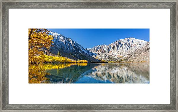 Convict Lake Framed Print
