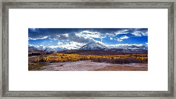 Conways Summit Framed Print