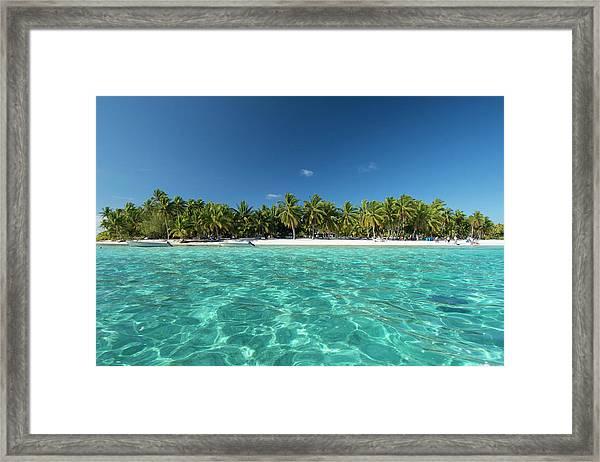 Cook Islands Palmerston Island Framed Print by Cindy Miller Hopkins