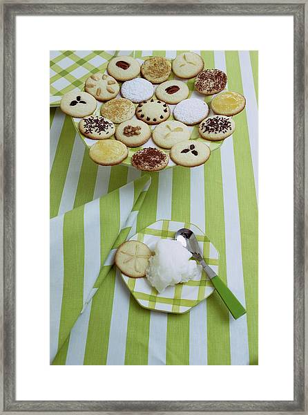 Cookies And Icing Framed Print