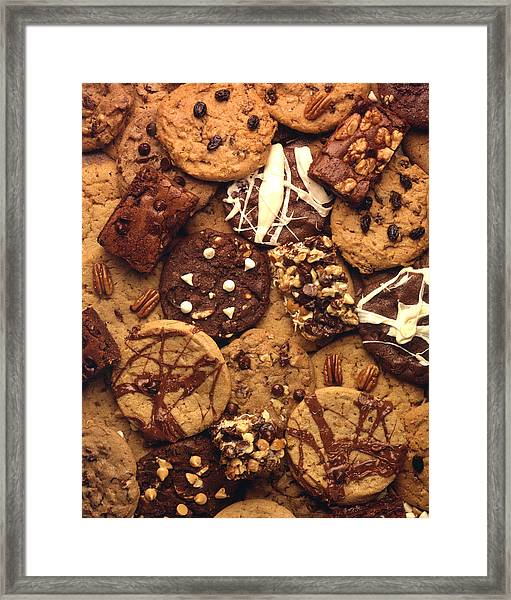 Cookies Any One Framed Print