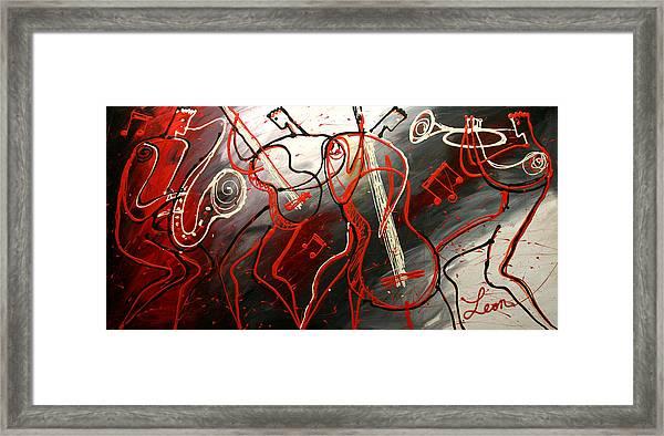 Cool Jazz 2 Framed Print