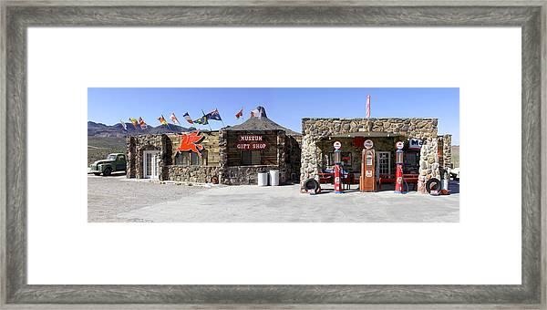 Cool Springs Service Station Framed Print