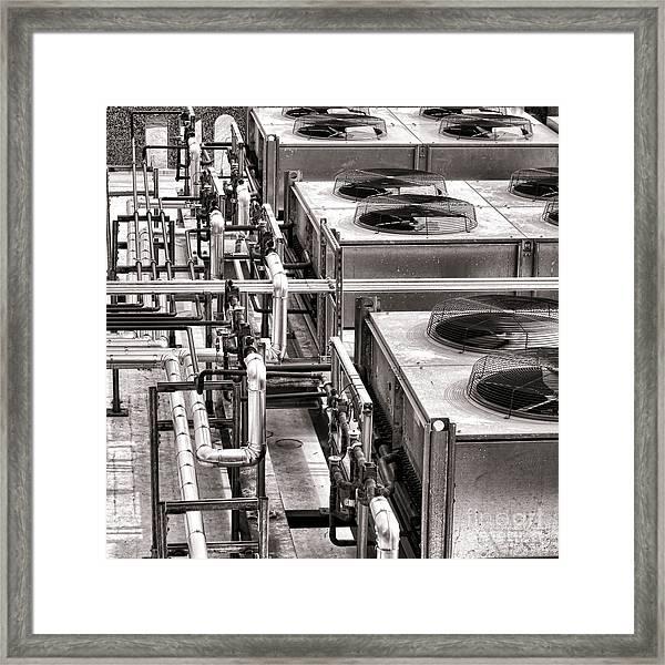 Cooling Force Framed Print