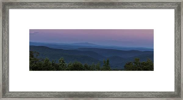 Cooper Hill Dusk II Framed Print