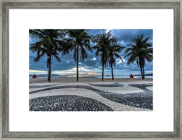 Copacabana Framed Print by Marcelo Freire Photography