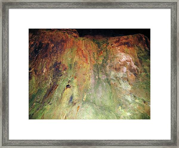 Copper Mine Deposit Framed Print by Cordelia Molloy/science Photo Library
