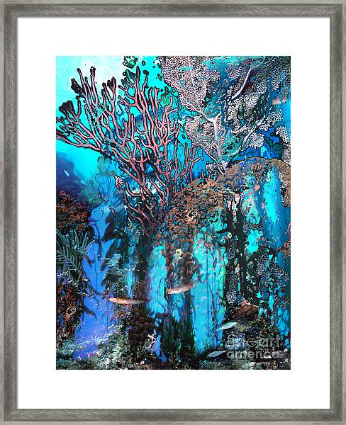 Coral Forest Framed Print