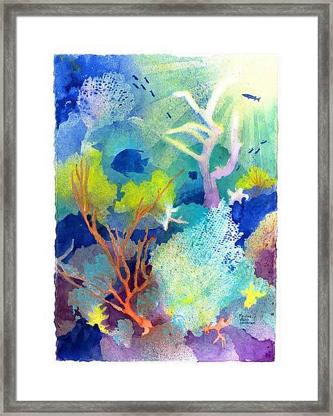 Coral Reef Dreams 1 Framed Print