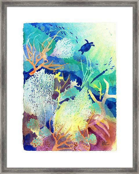 Coral Reef Dreams 2 Framed Print
