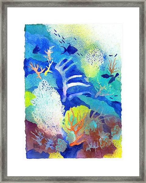 Coral Reef Dreams 3 Framed Print