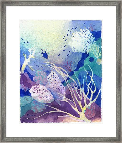 Coral Reef Dreams 4 Framed Print