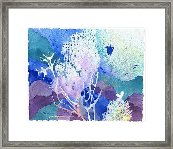 Coral Reef Dreams 5 Framed Print