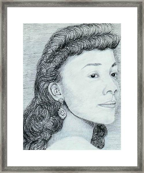Coretta Scott King Framed Print