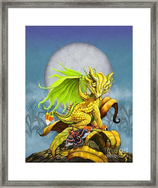 Corn Dragon Framed Print