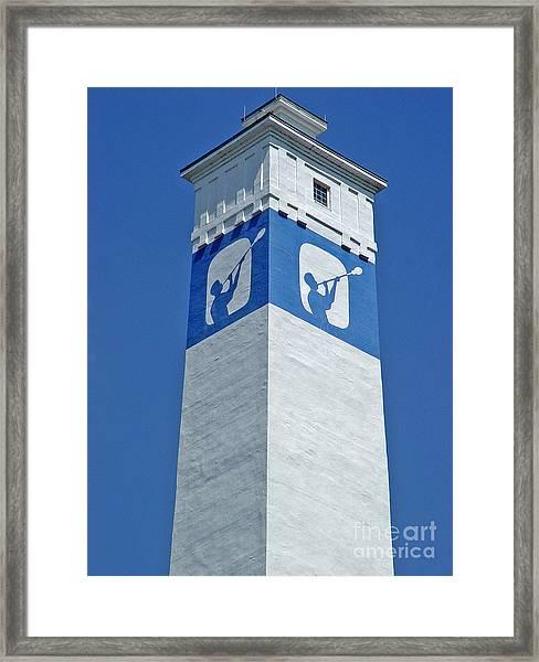 Corning Little Joe Tower 1 Framed Print
