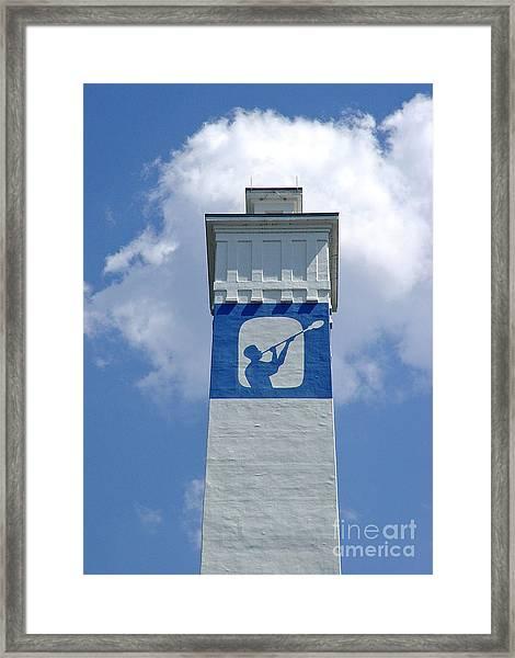 Corning Little Joe Tower 2 Framed Print