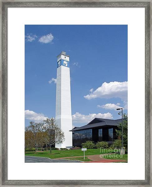 Corning Little Joe Tower 3 Framed Print