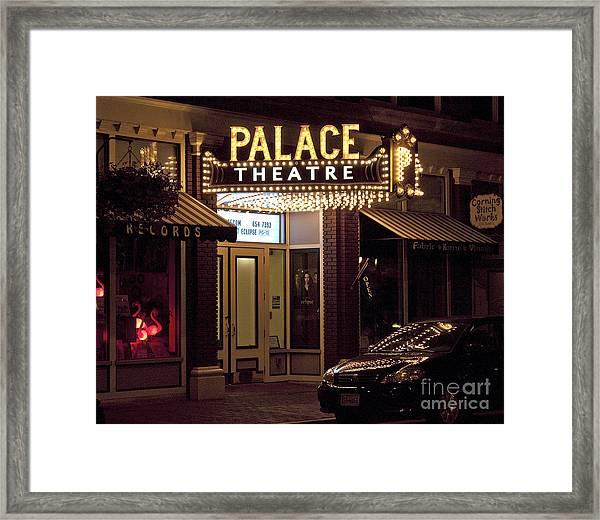 Corning Palace Theatre Framed Print