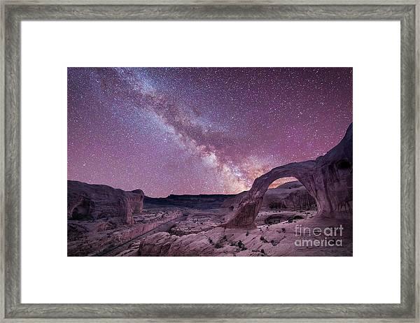 Corona Arch Milky Way Framed Print