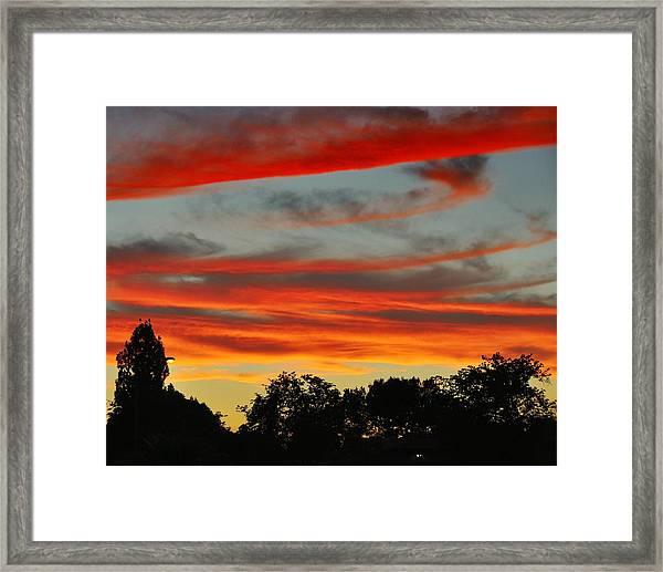 Corona Sunset Framed Print by Jim Robinson